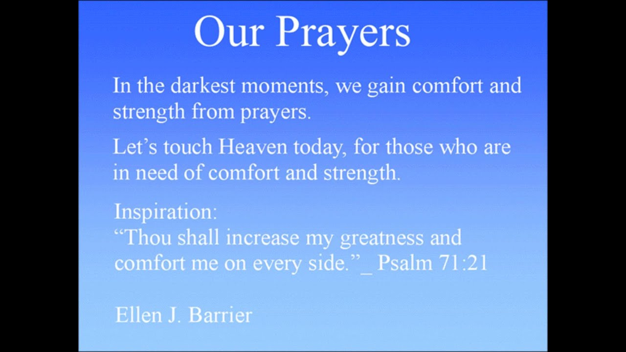 in our prayers - 600×449