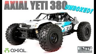 CWC | AX90026 Yeti™ 1/10th Scale Electric 4WD - RTR | UNBOXED!