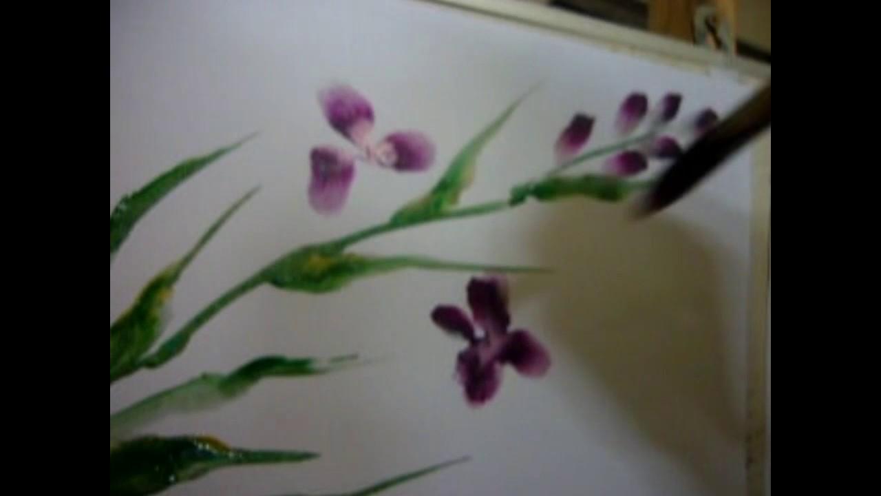 03 Menggambar Bunga Itu Mudah Youtube