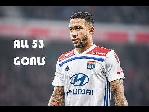 Memphis Depay - All 53 Goals With Lyon