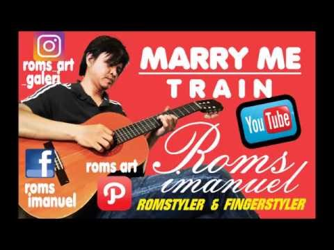Marry Me (Train) Harmonica cover by Roms Imanuel