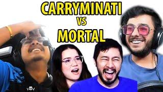 CARRYMINATI vs MORTAL - We Broke Records | Match Highlights | Livestream Reaction