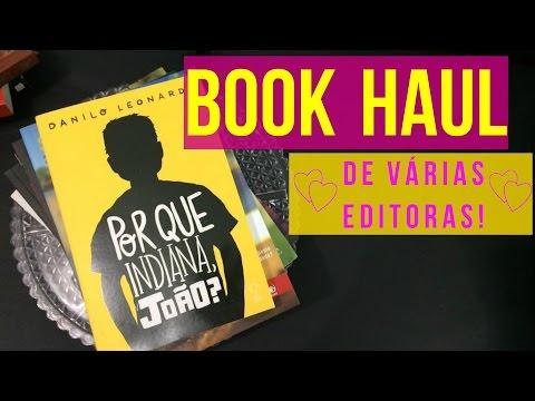 BOOK HAUL – GIZ EDITORIAL, NOVO CONCEITO E VALENTINA!