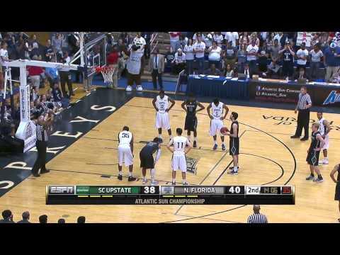 Atlantic Sun Tournament Final - USC Upstate Spartans vs North Florida Ospreys (08.03.2015)