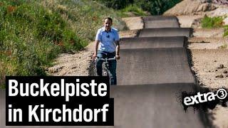 Realer Irrsinn: Buckelpiste als Radweg in Kirchdorf