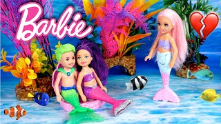 Barbie Doll Mermaid Family Pearl is Jealous of Her New Crush - Titi Toys