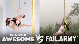 Pole Fitness, Wakeboarding & More | People Are Awesome vs. FailArmy