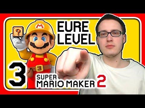 Livestream! Super Mario Maker 2 [EURE Level] (Stream 3)