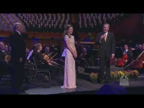 Laura Osnes Gets a Fond Farewell - Mormon Tabernacle Choir
