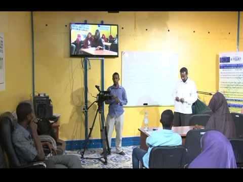 A documentary film about Media Center in Garowe, Somalia