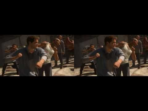 Uncharted 4 (3D - Doble pantalla)