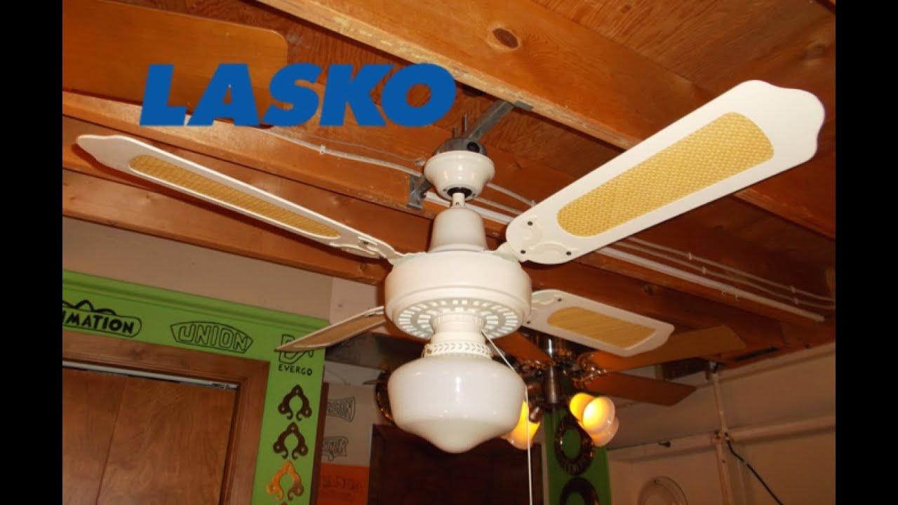 Lasko Plastic Ceiling Fan Hd Remake Youtube