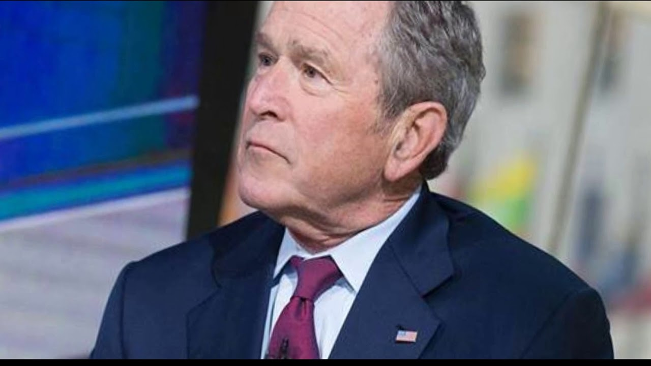 George W Bush Flexing Those Airpods Youtube