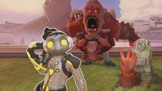 Overwatch - Zombie Winston Survival