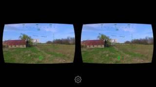 DJI PHANTOM 3 FLIGHT USING THE DRONE VR APP