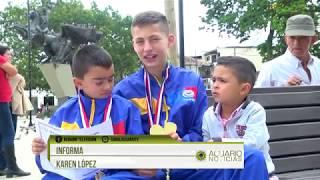 Tenimesistas rionegreros ganan campeonato sudamericano en Paraguay