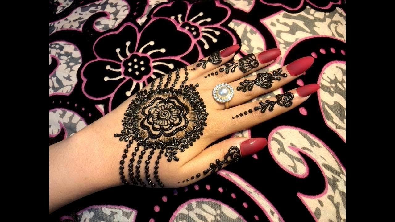 Beautiful Stylish Girly Henna Jewellery Simple Easy Party Mehndi