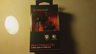 Blackweb Rhythmatic Wireless Earbuds Unboxing and First Impressions