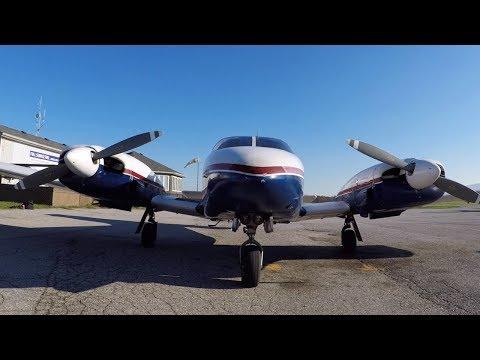 Getting my Multi Engine Rating! - Surprise Engine Failure - Flight Training VLOG