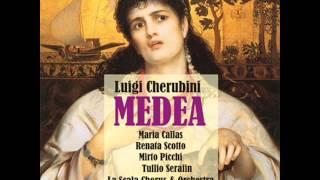 """Medea: Act II """"Creonte a me solo un giorno dà"""""""