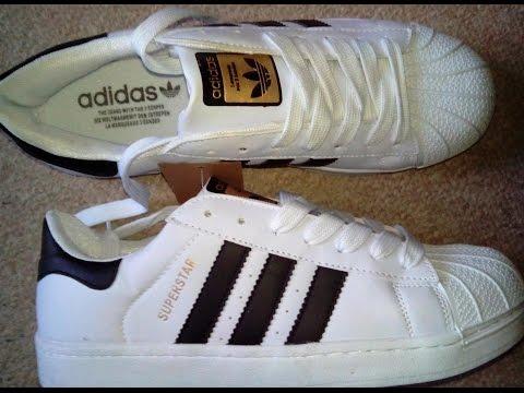 Adidas Superstar fakes- unpacking.