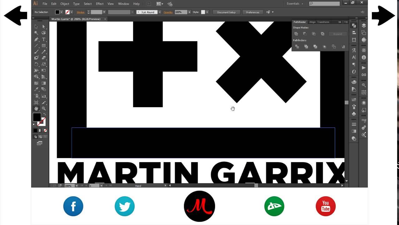 Martin Garrix Logo Adobe Illustrator