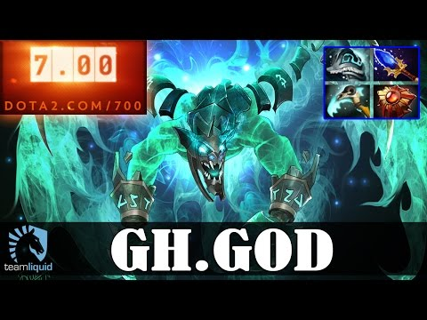 GH-GOD - Visage MID | Dota 2 Pro MMR  Gameplay #1