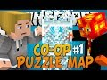 """MINECRAFT: CO-OP PUZZLE MAP PART 1! """"LONG HAIR DON'T CARE"""" w/Preston"""