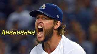Clayton Kershaw Getting Pissed Off