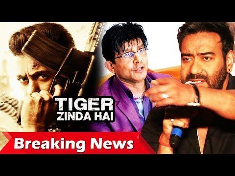 Salman's Fierce Look In Tiger Zinda Hai Poster, Ajay Devgn Behind KRK's Twitter Account Suspend?