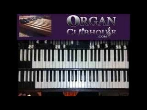 ♫ WORSHIP MUSIC in E flat (easy organ tutorial)