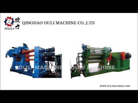 Rubber&Plastic Four rolls calender machine/ Rubber sheet calendering machine