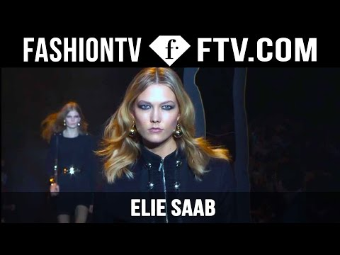 Elie Saab Fall/Winter 2015 Show ft. Karlie Kloss & Anja Rubik | Paris Fashion Week PFW | FashionTV