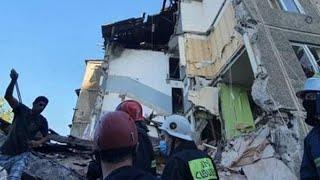 В Ереване взорвался газ. Обрушение дома. Репортаж с места событий