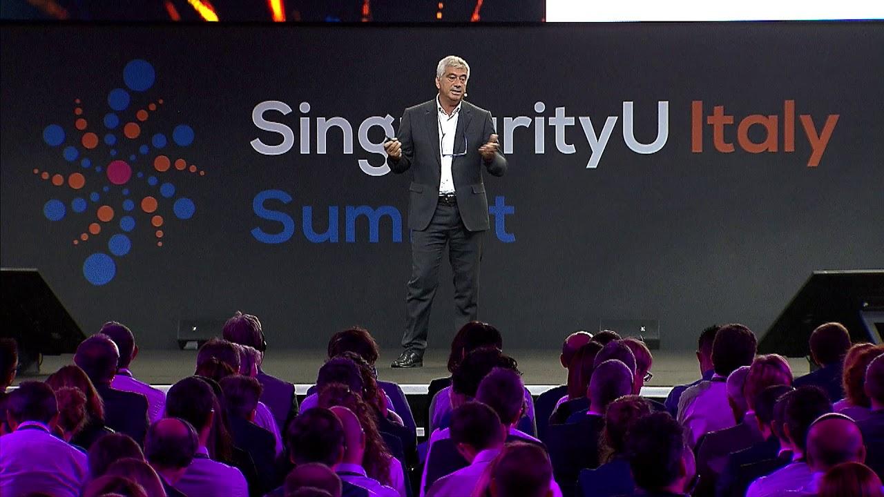Enrico Dini | Pioneering 3D Printing | SingularityU Italy Summit 2018