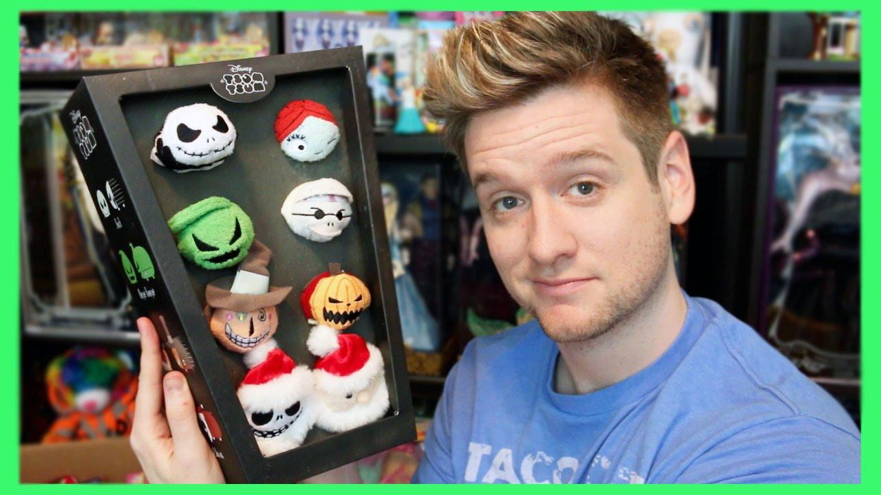 Disney Tsum Tsum / Nightmare Before Christmas Box Set Review - YouTube