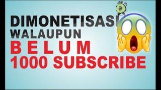 TRIK MONETISASI TANPA 1000 SUBSCRIBE Part2 thumbnail