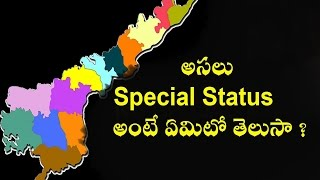 What is the Meaning of a Special Status to an Indian state? | Full Details In this Video