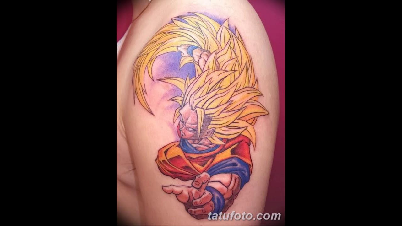 тату в стиле аниме Anime рисунки татуировки на теле фото
