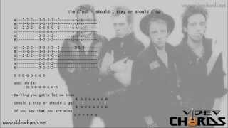 The Clash - Should I Stay or Should I go (Acordes para Guitarra en Video)