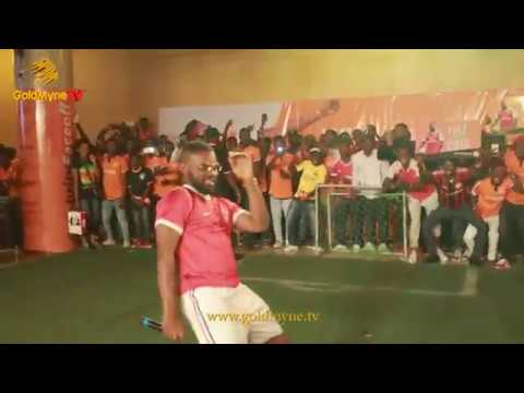 FALZ LIVE AT CELEBRITY FANS CHALLENGE FALZ VS AKPORORO