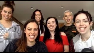 Baixar Cimorelli Singing Cover Requests On A Facebook Livestream With Radio One Lebanon (1/18/18)