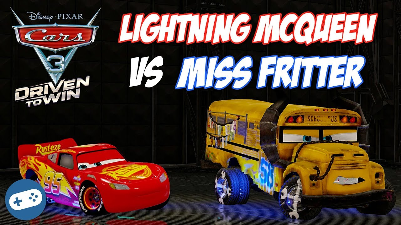 cars 3 driven to win lightning mcqueen vs miss fritter. Black Bedroom Furniture Sets. Home Design Ideas