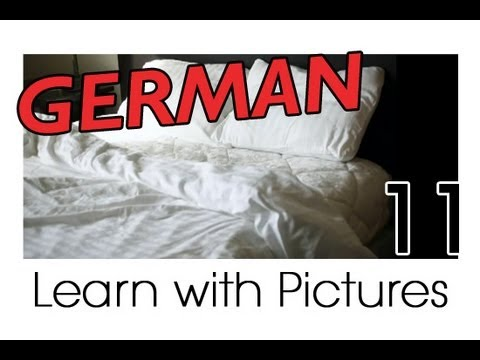 Learn German - German Room Vocabulary