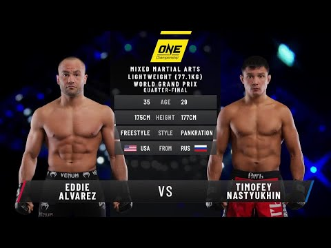 Eddie Alvarez vs. Timofey Nastyukhin | Full Fight Replay