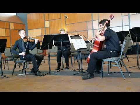 Mukwonago High School Quartet Solo & Ensemble at Parkside  2019