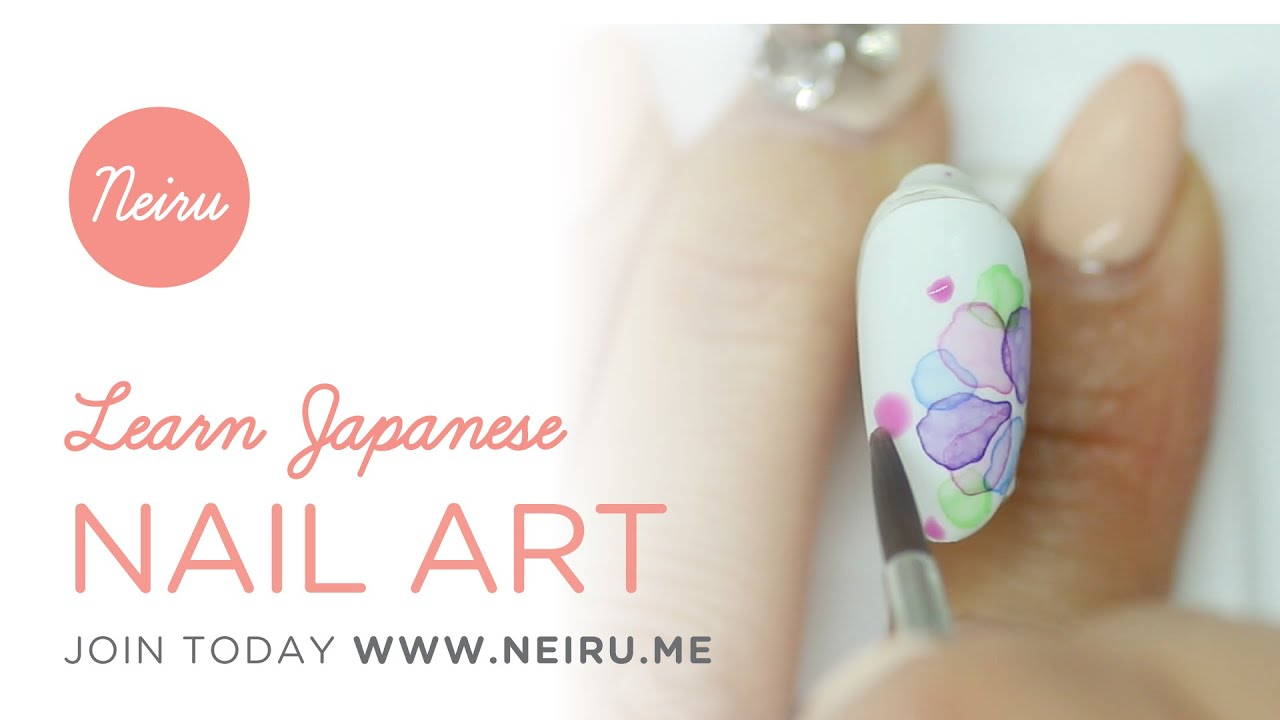 Neiru (ネイル): Learn Today\'s Japanese Nail Art (www.Neiru.me) - YouTube