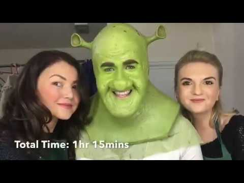 Steffan Harri's transformation into Shrek for Shrek the Musical UK Tour!