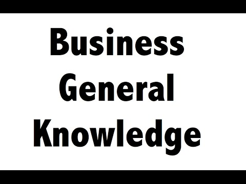 Important Companies & Headquarters -- Business Static GK