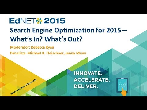 Search Engine Optimization for 2015—What's In? What's Out?